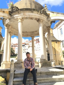 Jardim da Manga, Coimbra (PT), en el momento de jugarse el USCF-Onzonilla