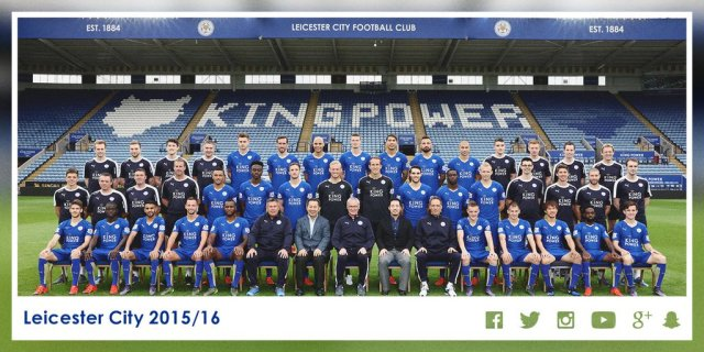 Fuente: Twitter oficial del LCFC.  https://twitter.com/LCFC